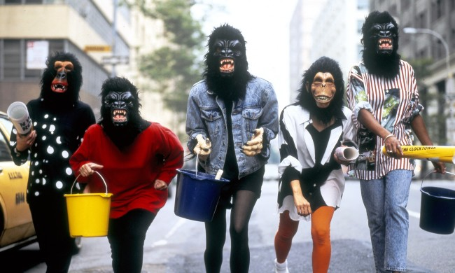 Guerrilla Girls. Courtesy Cheap