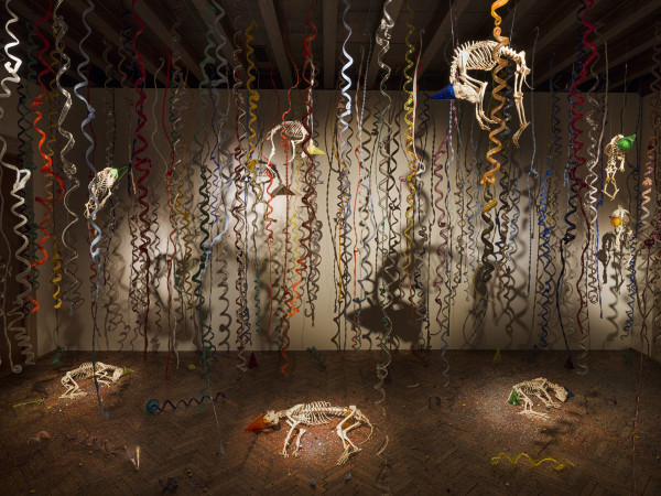 The catacombs of the dead street dogs (2009-2017), Jan Fabre Courtesy Gamec- photo Attilio Maranzano, copyright Angelos bvba