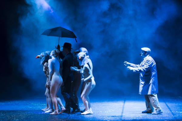 """""""Le serve"""" di Genet, regia di Antonio Capuano. Nella foto Iole Caròla. Foto: Salvatore Pastore"""
