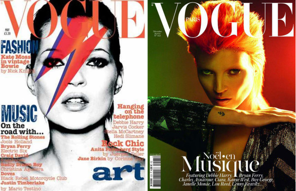 Copertine Vogue UK e Vogue Paris – ph. Nick Knight