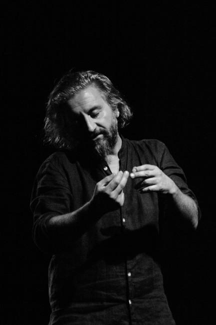 Ascanio Celestini. Foto Francesca Marra