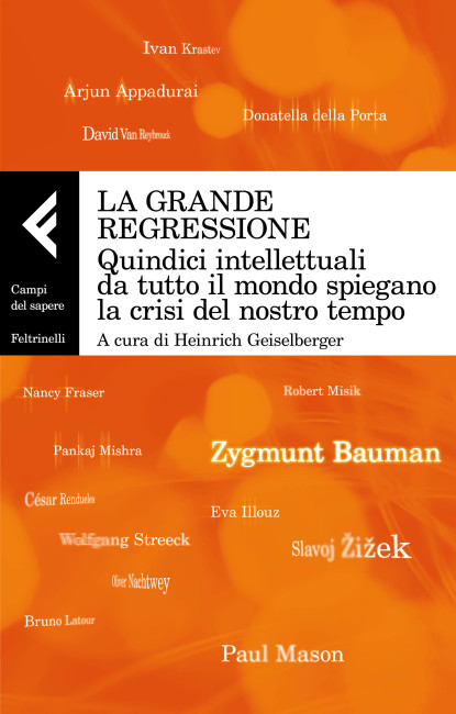 """Copertina de """"La rande reressione"""", AA.VV., 2017, Feltrinelli"""