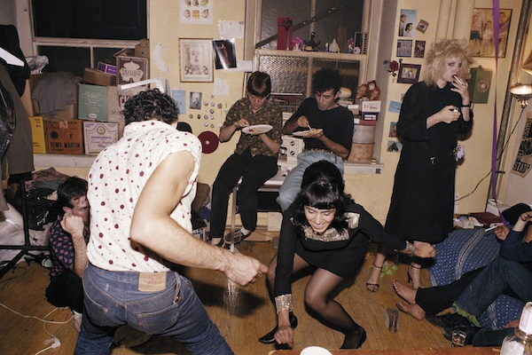 NanGoldin, Twistingatmybirthday party, New York City 1980 © NanGoldin