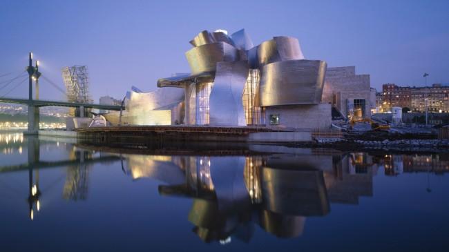 Bilbao Museum di notte