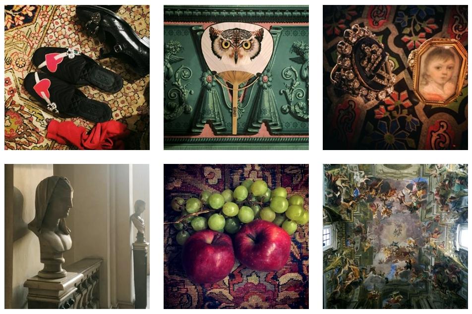 Il pluriverso di ispirazioni dall'official account Instagram di Alessandro Michele - @lallo25, moda