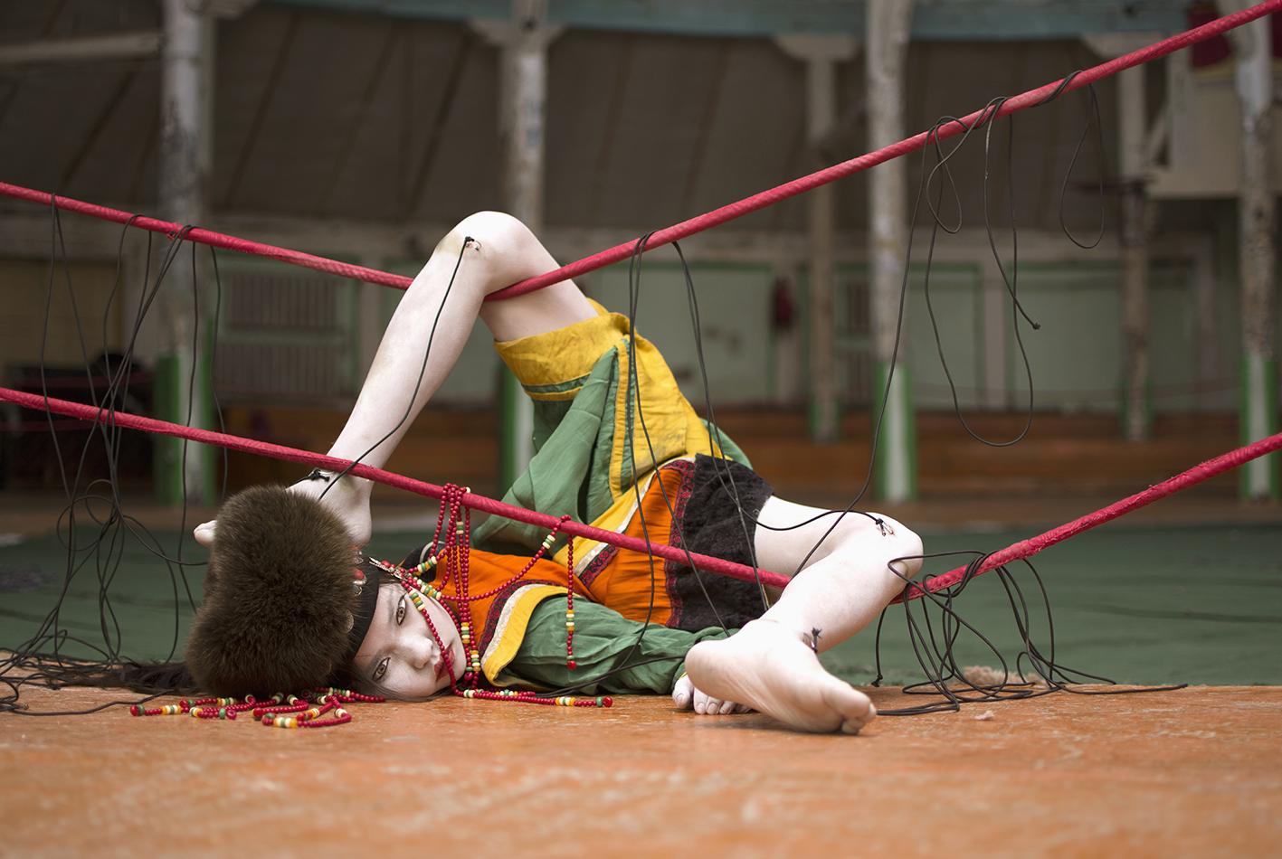 Pinocchio 8.4, Alice Laloy Modèle : Toumentuya Nyamtuya - TOUM2 Studio uuriintsolmon- Oulan Bator - MONGOLIE ©Alice Laloy