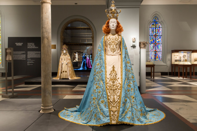 HeavenlyBodies: Fashion and the Catholic Imagination - Gallery View,Medieval Europe Gallery. Image © The Metropolitan Museum of Art