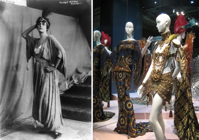 Modello Jean Patou e abiti Christian Dior by John Galliano – WikimediaCommons
