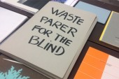 Waste paper for the blind. La ricerca di senso di Elena Costelian