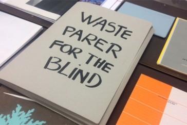 Waste paper for the blind. La ricerca di senso di Elena Costelian