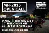 Milano Film Festival 2015: bandi aperti