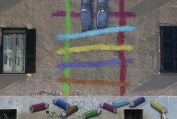 Big City Life, street art per riqualificare i quartieri degradati di Roma