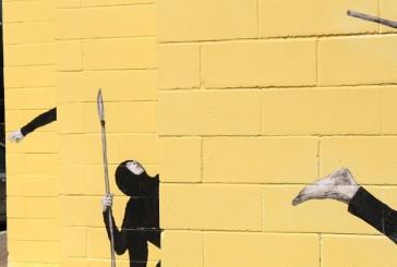 Cheap, street poster art festival: gli scatti al lavoro di Levalet