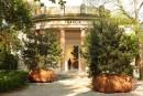 L'animismo dei tre pini di Céleste Boursier-Mougenot al Padiglione Francia