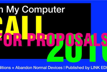 Call for proposals: In My Computer # 12