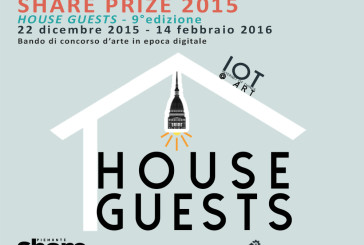 """""""House Guests"""": bando Share Prize 2015/2016"""