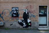 Blek le Rat inaugura la nuova sede di Wunderkammern a Milano