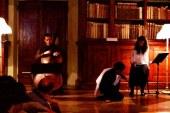 Tagliare e cucire parole: Nuvole. Casa. di Jelinek in scena con Chiara Guidi