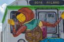 OSGEMEOS in Italia con il murales Efêmero