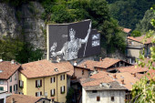 WALL IN ART: gli street artist Ozmo, 2501 e Gaia in Valle Camonica